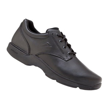Ascent Apex Senior D Black Shoes